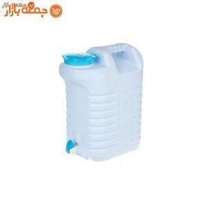 دبه پلاستیکی شیردار زیباسازان 12 لیتری