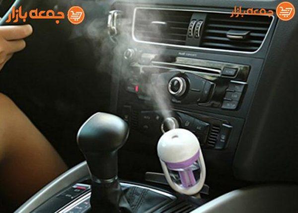 بخور آب سرد و خوشبوکننده فندکی خودرو