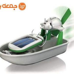 ربات خورشیدی 6 کاره