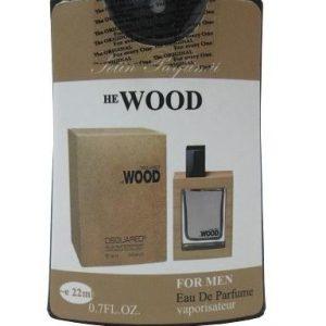 عطر جیبی مردانه He Wood