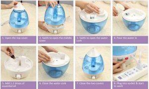 بخور آب سرد مدل قطره