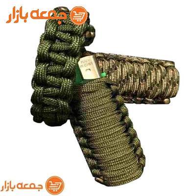 دستبند و فندک پاراکورد