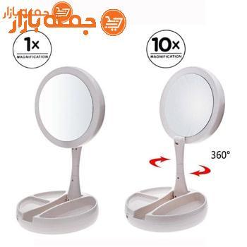 آینه آرایشی Foldaway مدل چراغ دار