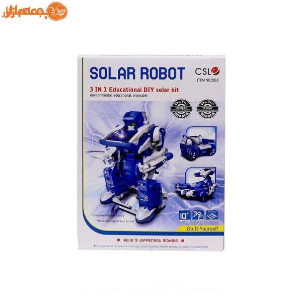 کیت آموزشی ربات خورشیدی