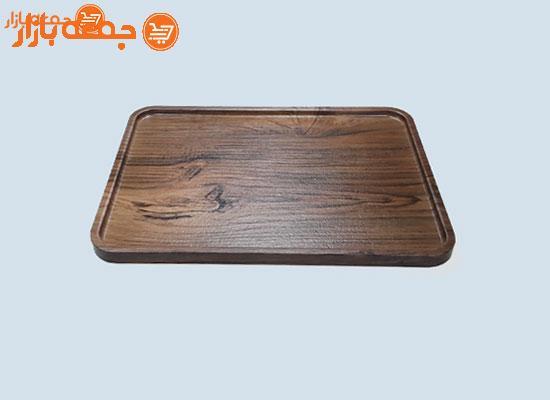 سینی پذیرایی چوبی