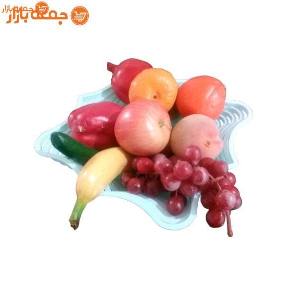 سبد میوه پذیرایی هشت ضلعی