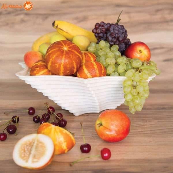 سبد پذیرایی میوه مدل هشت گوشه