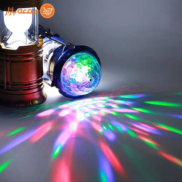 فانوس رقص نور دار سه کاره