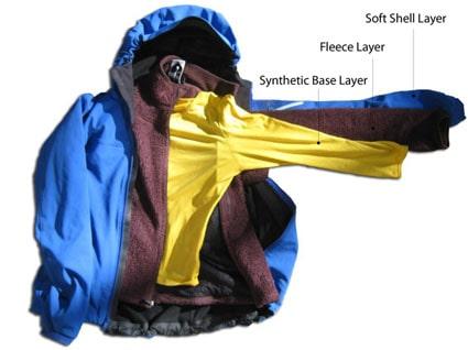 لباس مناسب کوهنوردی