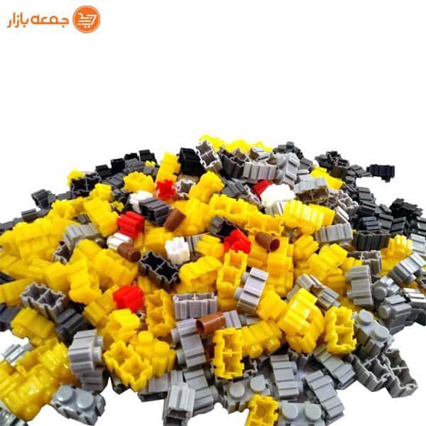 اسباب بازی لگو سازه طرح ماشین آلات
