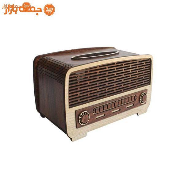 جا دستمال کاغذی مدل رادیو