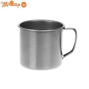 لیوان فلزی دسته دار