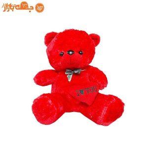 عروسک خرس قلبی 27 سانتی متری