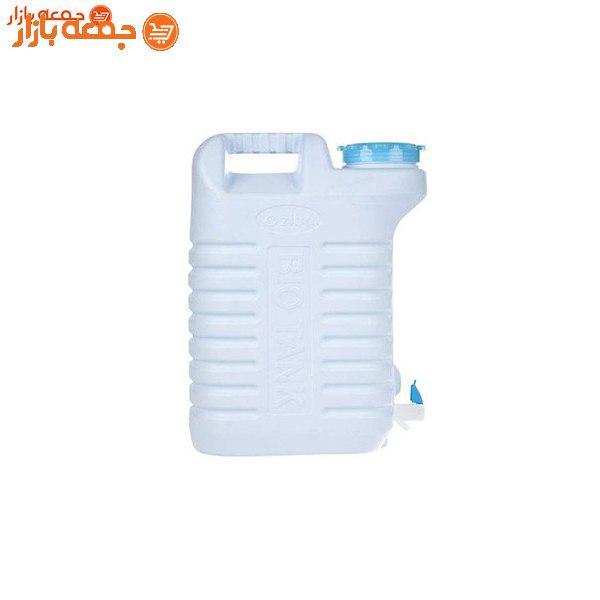 دبه پلاستیکی شیردار زیباسازان 12 لیتر