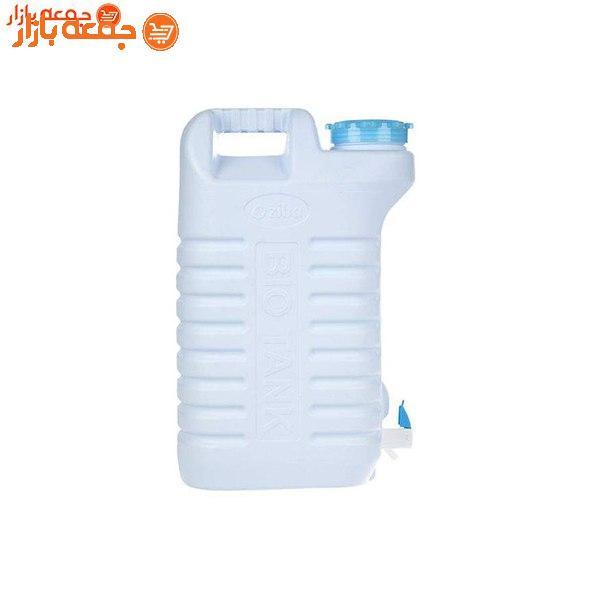 دبه پلاستیکی شیردار زیباسازان 20 لیتر
