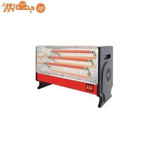 بخاری برقی سه شعله شفق مدل 206