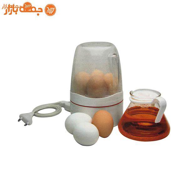 تخم مرغ آبپز کن