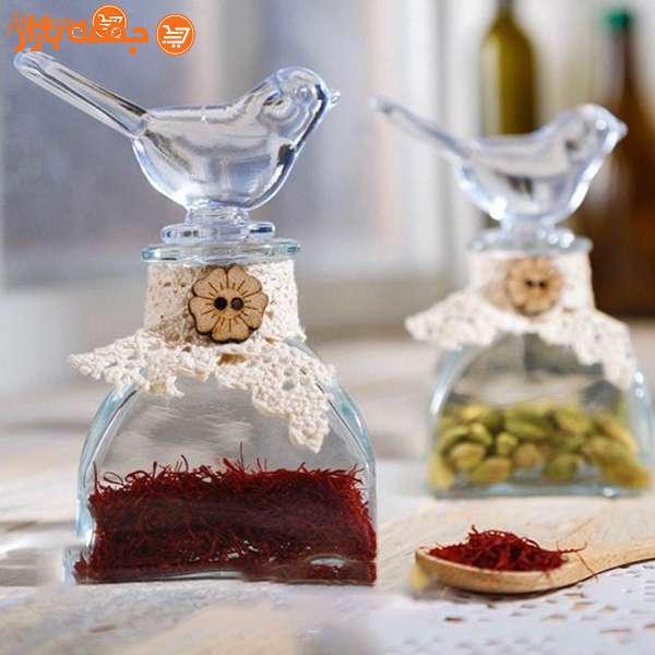 ظرف نگهدارنده زعفران بلبل