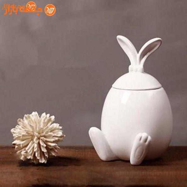 شکلات خوری سرامیکی خرگوش مایا هوم