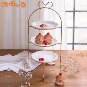 شیرینی خوری سه طبقه پاپیون