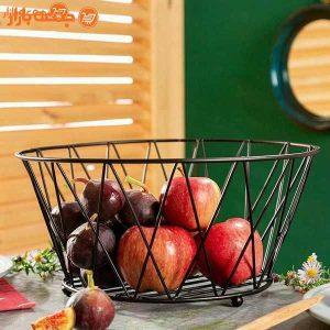 سبد پذیرایی میوه فلزی kia