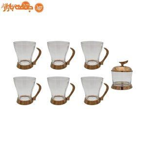 سرویس چای خوری تک استیل 981RG