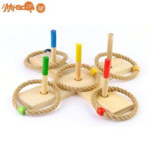 پرتاب حلقه چوبی چوبین