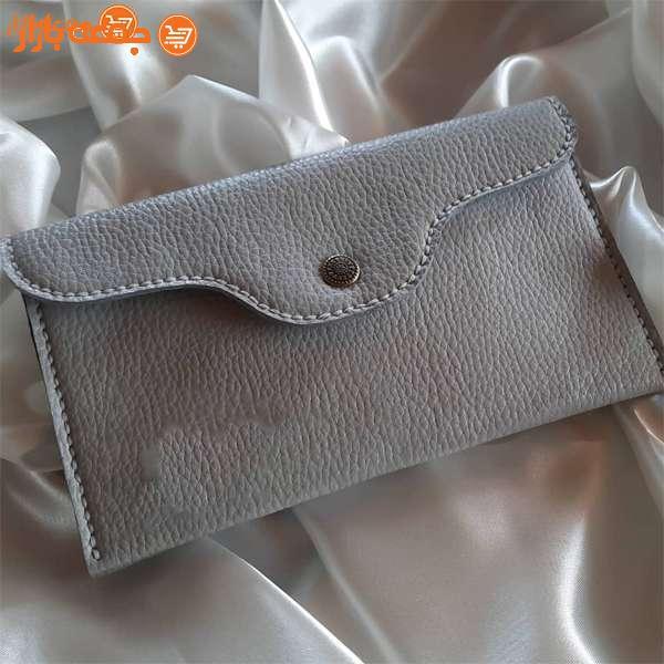 کیف پول زنانه چرمی نسترن