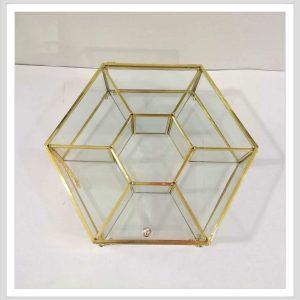 باکس شیشه ای 7 خانه تی بگ و تنقلات